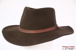 Outdoor hoed Leisure Felt bruin wolvilt 57,5