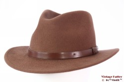 Outdoor Fedora Brixton Messer bison beige brown 58 (M) [New Sample]