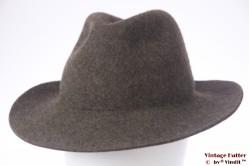 Outdoor hoed Alpin Sporthut grijzig bruin wolvilt 56