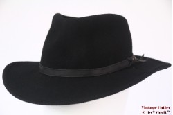 Outdoor hat Leisure Felt black wool felt 57