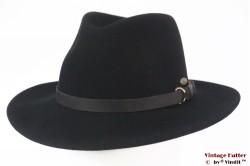 "Outdoor hoed Mayser Trecking ""Georgia"" zwart wolvilt 57"
