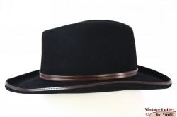 Outdoor har Melegari black felt brown leather band 56-57