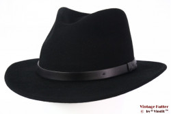 Outdoor Fedora Brixton Messer black 58-59 (M) [New Sample]