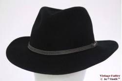Outdoor gleufhoed Stetson zwart 61 (XL)