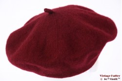 Alpino Beret burgundy red woven XS 52-56 [new]