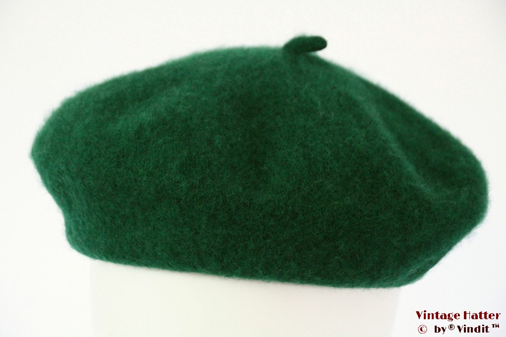 Alpino Beret green woven 54-59 [new]