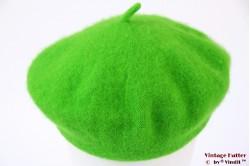 Alpino Beret vibrant green woven 55-60 [new]