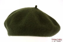 Alpino Beret army green woven 54-59 [new]