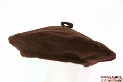 Alpino baret bruin fleece gevoerd 53-58 [nieuw]