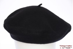 Alpino Beret black felt 54-59 [new]