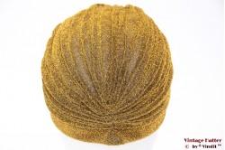 Turban gold lurex velvet 55 - 59 [new]