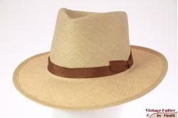 Brixton Limited Verona hoed van fijn stro 56 [Nieuwe Sample]
