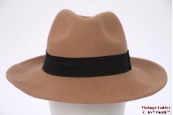Unisex fedora ONLY beige brown 57