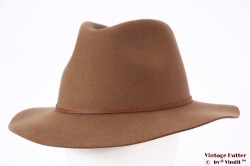 Fedora Brixton Wesley coconut beige brown 58 [New Sample]