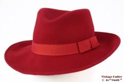 Unisex Fedora (recent model) red felt 56
