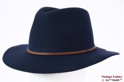 Fedora Brixton Wesley steel blue 56-58 Adjustable [New Sample]