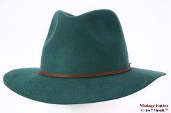 Fedora Brixton Wesley emerald green 58 [New Sample]