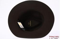 Fedora Brixton Wesley dark brown 56-58 Adjustable [New Sample]