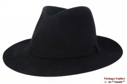 Gleufhoed Westbury zwart vilt 56-57