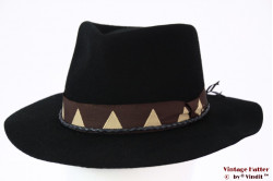 Fedora Brixton Venice black felt 56 [New Sample]