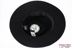 Fedora Brixton Venice black felt 56 [New Sample]
