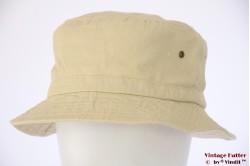 Vissers bucket hoed Hawkins geelgroen katoen 59 [nieuw]
