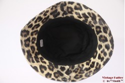 Fisherman Buckethat Hawkins beige brown leopardprint 57 [new]