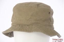 Vissers bucket hoed Hawkins groen katoen 59 [nieuw]