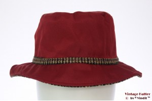 Fisherman hat Hawkins dark red 58 [new]