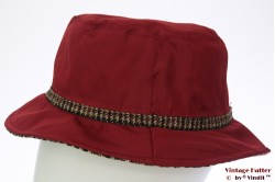 Fisherman hat Hawkins dark red 58 [new]