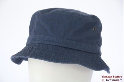 Vissers bucket hoed Hawkins blauw katoen 59 [nieuw]