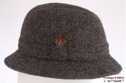 Fisherman hat Harris Tweed blue 58