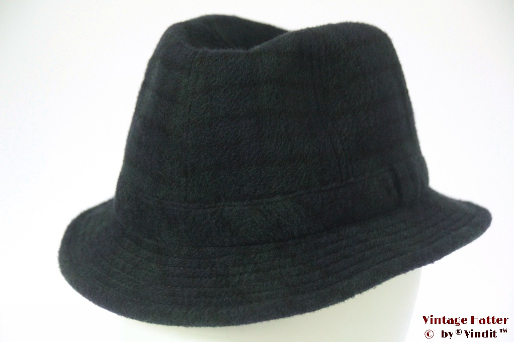 Fisherman hat Country Gentleman dark blue & green 55 (S)