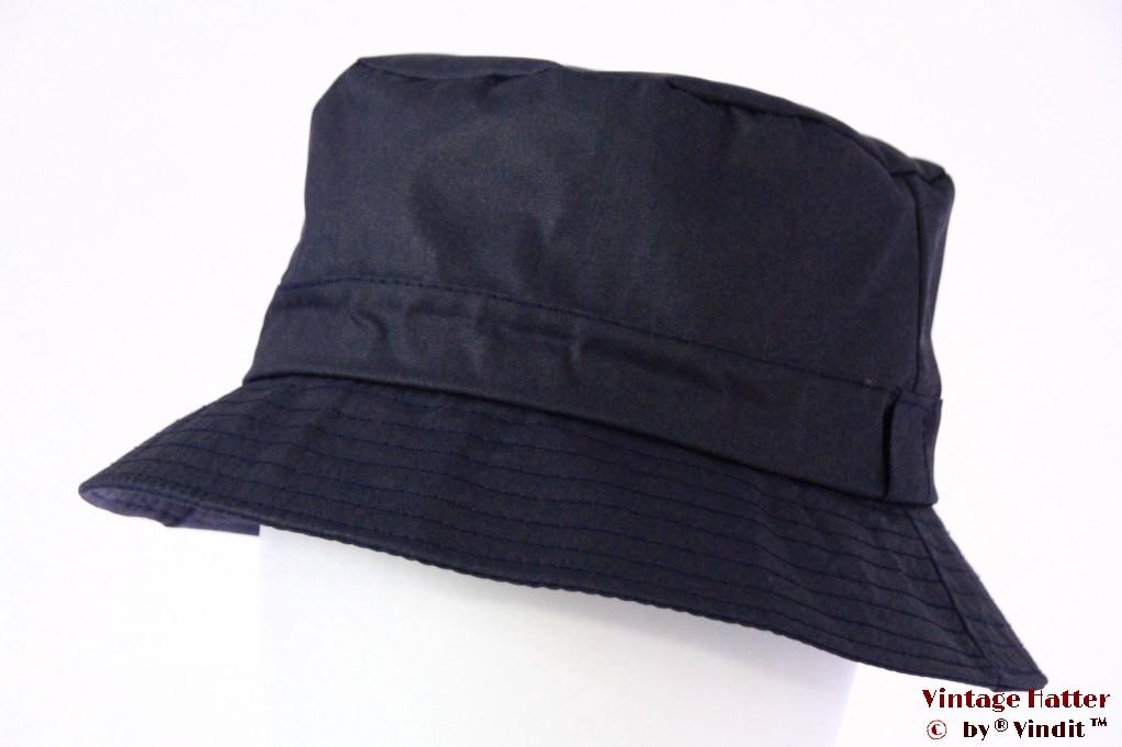 Bush wax hat Hawkins dark blue 60 [new]