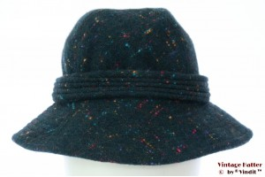 Fisherman hat Country Casuals dark turkois 53,5 (XXS)