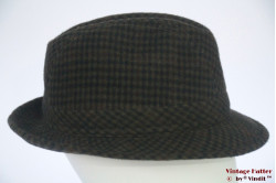 Fisherman hat 'Fashionable Hat' green cashmere and wool 59 (L)