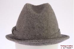 Fisherman hat Elegant grey wool 54 (XS)