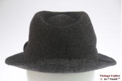 Fisherman hat grey herringbone 57