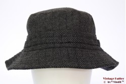 Fisherman hat Hawkins grey herringbone 59 [new]