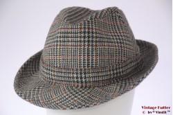 Fisherman hat Dunn & Co bluish grey wool 59