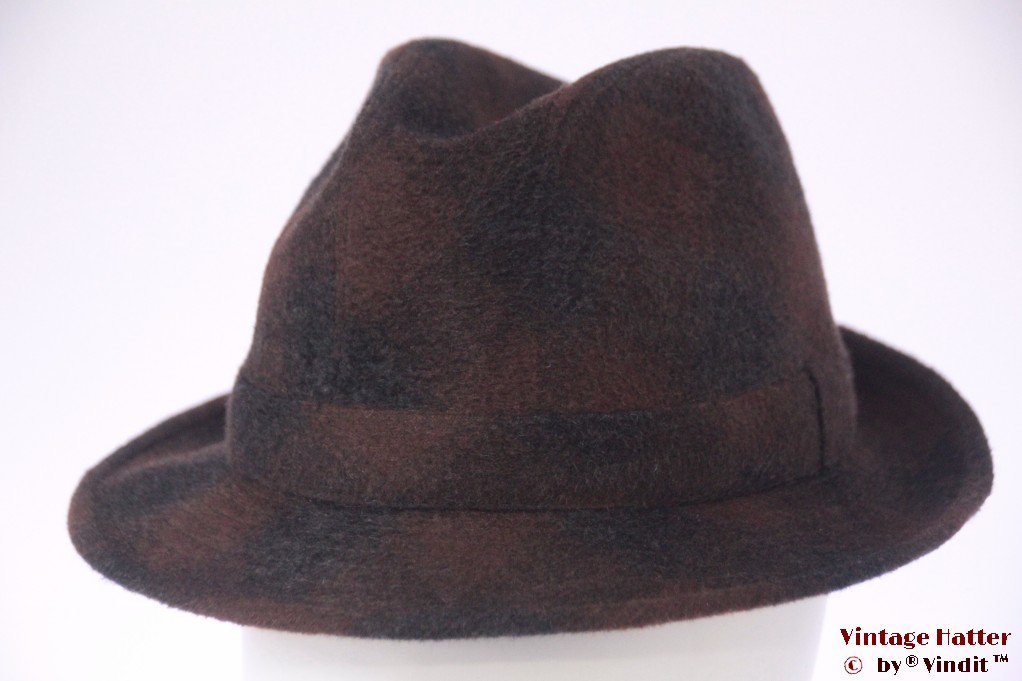 Fisherman hat LAC brown grey 56