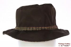 Fisherman hat Hawkins dark brown 58 [new]
