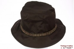 Fisherman hat Hawkins dark brown 57 [new]