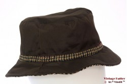 Fisherman hat Hawkins dark brown 56 [new]