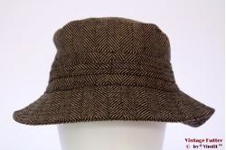 Fisherman hat Hawkins brown herringbone 59 [new]