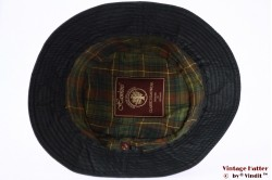 Vissers wax hoed Hawkins zwart 59 [nieuw]