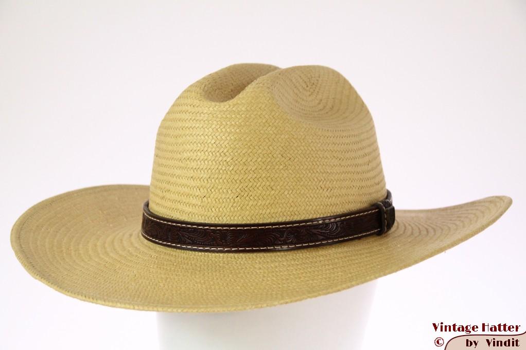 Summer Western hat Brixton x Fender Paycheck tan straw 57,5 [New Sample]
