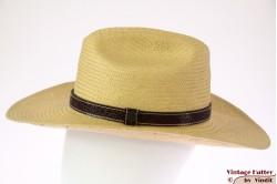 Zomer Western hoed Brixton x Fender Paycheck geel beige 57,5 [Nieuwe Sample]