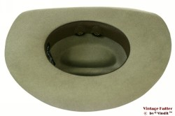 Western hat Brixton x Fender Paycheck greyish green 57 [New Sample]