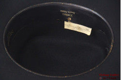 Wide western hat Resistol Dakota black felt rectangular top 57